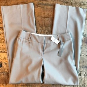 NWT LOFT Julie Tan Boot Cut Trouser Size 4